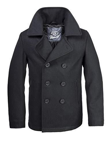 Brandit PEA Coat Schwarz XL