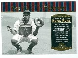 Josh Gibson baseball card (Homestead Grays Negro League) 2001 Upper Deck #85