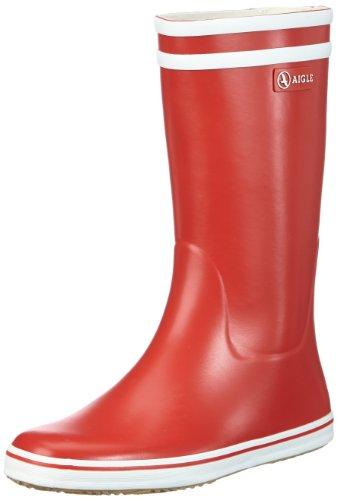 Aigle Damen Malouine BT Gummistiefel, Rot (Rouge/Blanc), 38 EU (5 UK)