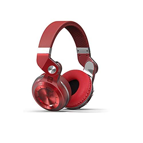 SFBBBO Auriculares Auriculares Bluetooth para Colocar sobre la Oreja a la Moda BT 5.0 Compatible con Radio FM y Funciones de Tarjeta SD Música y Llamadas telefónicas RedRetailPackage