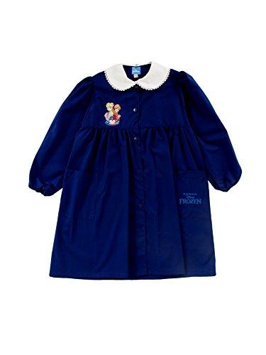GREMBIULE SCUOLA FROZEN AMBROSINO BLU (8 - 9 anni, blu)