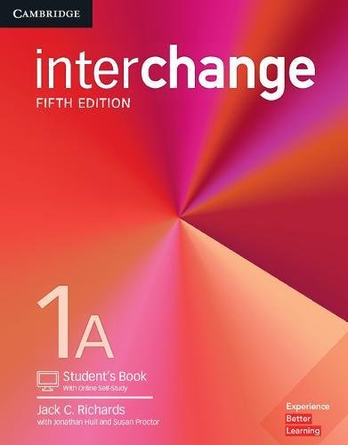 Interchange 1A - Student´s Book With Online Self-Study - 05 Edition