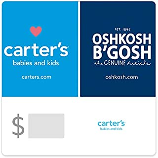Carter's/OshKosh Castle Gift Cards - E-mail Delivery