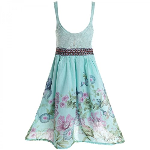BEZLIT Mädchen Sommerkleid Petticoat 20423 Grün Größe 116