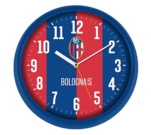 Lowell Wanduhr mit Gehäuse aus ABS | Stufenlose Wanduhr | Durchmesser 30 cm - FC Bologna