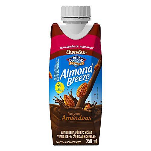 Alimento com Amêndoas Sabor Chocolate Zero Açúcar Almond Breeze 250ml