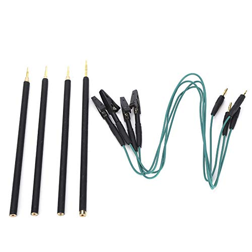 Les-Theresa 4 unids/Set bolígrafos de sonda LED BDM Pines de Marco con Cable de conexión de Repuesto para Placa KTAG/Kess ECU