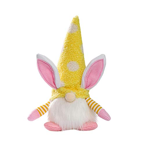 Easter Party Lighted Rabbit Faceless Doll Warm Light Home Decoration Ornaments Home & Garden Home Decor