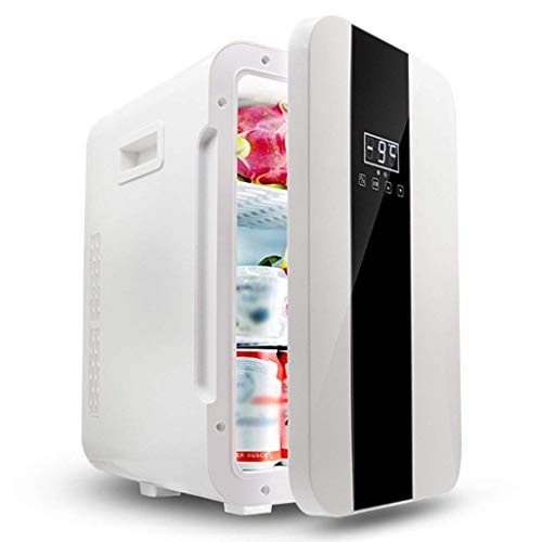 MQJ 22L Coche Refrigerador Mini Caja Eléctrica Fresca Caja Doméstica Coche Y Hogar Dual de Uso de Uso Nevera de una Sola Puerta
