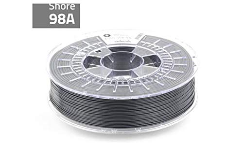 extrudr TPU Medium ø1.75mm (750gr) 3D Printer Filament'Anthracite' (RAL7016), Flexible Elastic Filament with Chemical Resistance
