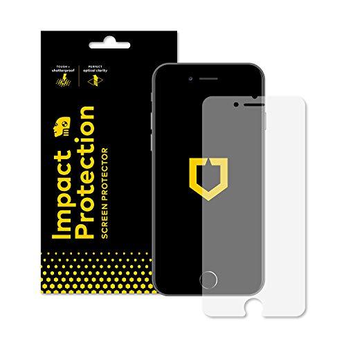 RhinoShield Protection écran Compatible avec [iPhone SE2 / Se (2020) / iPhone 8 / iPhone 7] | [Anti-Chocs] Film Protecteur Haute qualité - Transparence 99% et résistance aux Rayures/Traces de Doigts