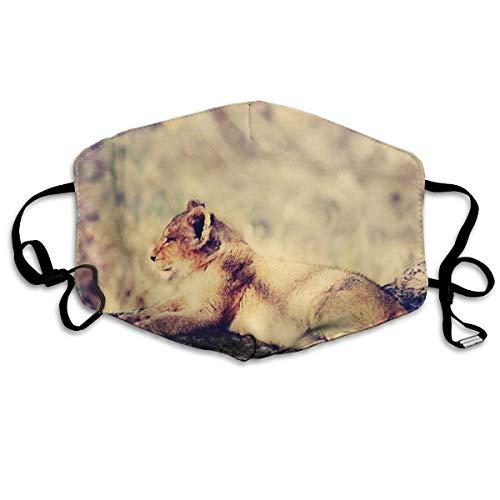 Máscara de boca de tigre ajustable, antipolvo, lavable, reutilizable,