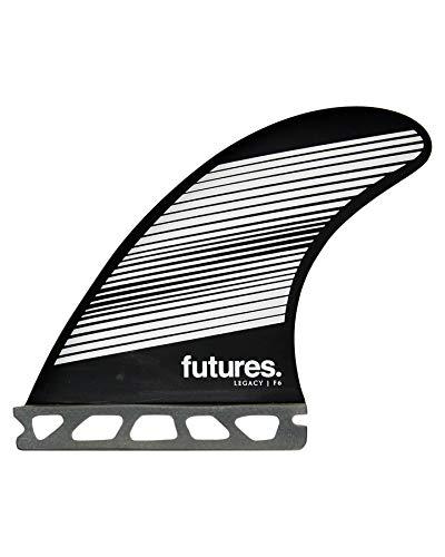 Futures F6 Legacy Thruster Fin Set Gray/Black