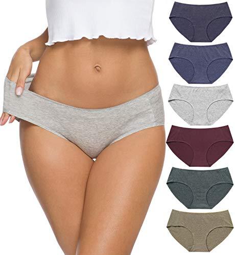 Wealurre-Viscose-Cotton-Bikini-Womens-Breathable-Panties-Seamless-Comfort-Underwear