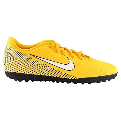 Nike Jr Vapor 12 Club GS NJR Tf, Scarpe da Calcetto Indoor Unisex-Adulto, Multicolore (Amarillo/White/Black 710), 38 EU