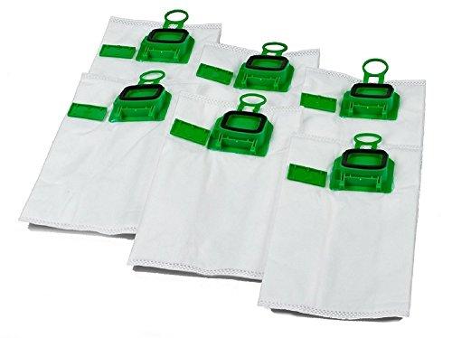 DL SERVICE 6 sacchetti per aspirapolvere di qualità adatto per Vorwerk Kobold 140 VK vk150