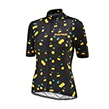 Uglyfrog Manga Corta Maillot Ciclismo De Mujer Verano MTB Maillot Bicicleta, Camiseta y Camisa Ropa De Triatlon Transpirables ESHSJW10