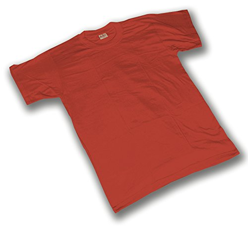Seba 464R T-shirt katoen rood, 130 g M Rood