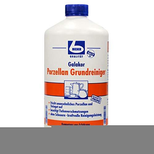 Dr. Becher Galakor porselein basisreiniger 1 liter - verwijdert diepe verontreinigingen