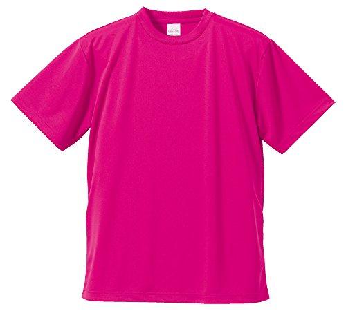 (ユナイテッドアスレ)UnitedAthle 4.1オンス ドライ アスレチック Tシャツ 590001 [メンズ] 511 トロピカルピンク XXL