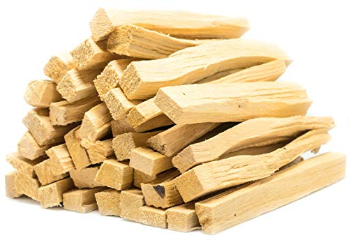 Palo Santo Incense Sticks Bulk | 200 Grams (Approximately 26-36 Sticks) | Holy Wood, for Healing, Meditating, and Whole-Body Stress Relief & Support | Wild Harvested, 100% Natural from Ecuador