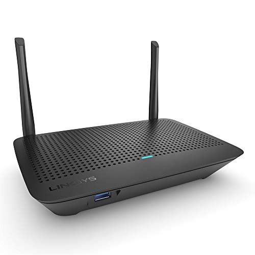 Linksys Mesh WiFi Router (Mesh WiFi 5 Router, Wireless Mesh Router for Home) Future-Proof Dual-Band Fast Wireless Router