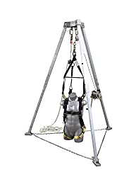 Elk River 05612 Economy EZE-Man Confined Space System, 3:1 Ratio, 50' Length