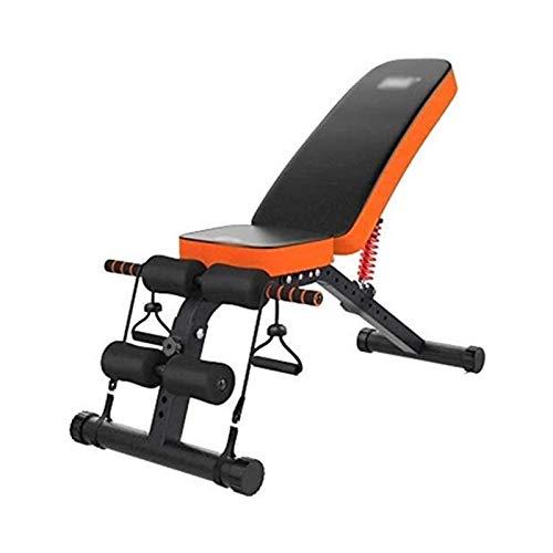 SMLZV Banco Ajustable, Peso Bench Gym Equipment Ejercicio multifunción Ajustable Sit-Up Board 300 kg (Color : Style2)