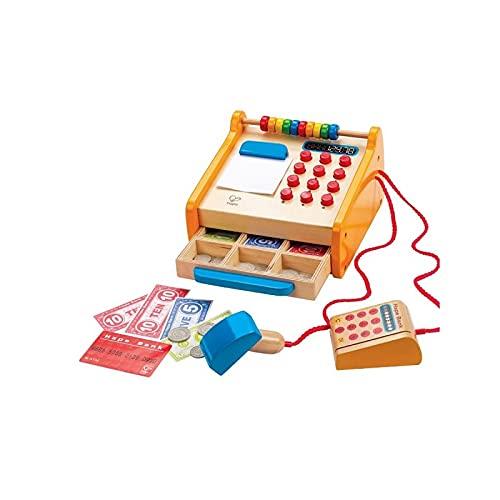 Hape- Caja registradora, Multicolor (Barrutoys HAP-E3121AE)