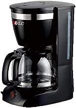 ماكينة تحضير القهوة المفلترة دي ال سي، لون اسود -