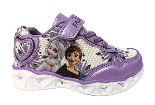Zapatos Frozen con luces niña Primavera 2021 Blanco Size: 26 EU