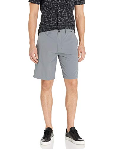 Hurley Men's Phantom Flex 2.0 Walkshort, Cool Grey, 32