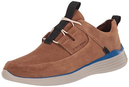 Cole Haan Men's GRANDSPORT Apron Toe Sneaker, Bourbon Suede, 8 M US