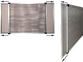 Blinky 75015 mosquitera extensible anodizado altura de 70 x 90 cm