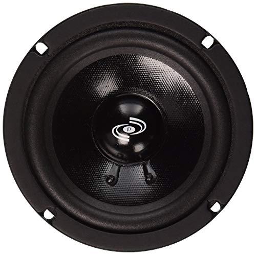 "6.5"" 400 Watt with Electroplated Steel B 2-Way Custom Component Speaker System"