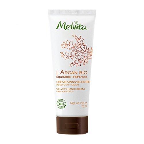 MELVITA - Crèmes mains veloutée - Tube de 75ml- (pour la quantité plus que 1 nous vous remboursons le port supplémentaire)