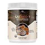SACRED 7 Mushroom Extract Powder - USDA Organic -...