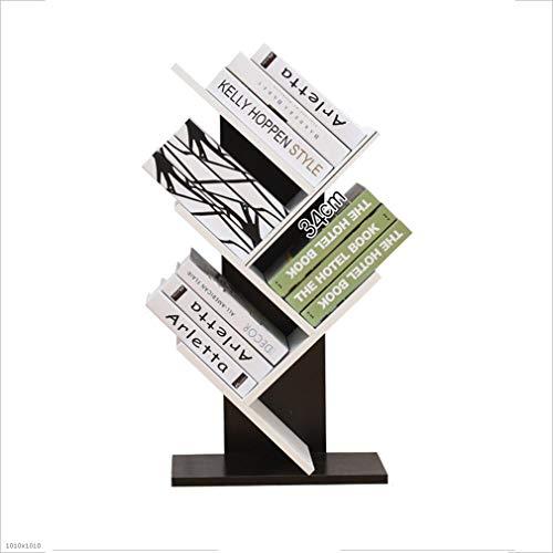 LSLS Unidad de Estante de pie 5-Nivel Estante Creativo en Forma de árbol Sala de Estar Dormitorio Infantil Estante de decoración (Tamaño: 48 * 22 * 77cm) estantería de Pared (Color : #2)