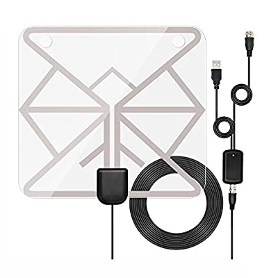 HDTV Antenna, Indoor Digital TV Antenna 60-100 ...