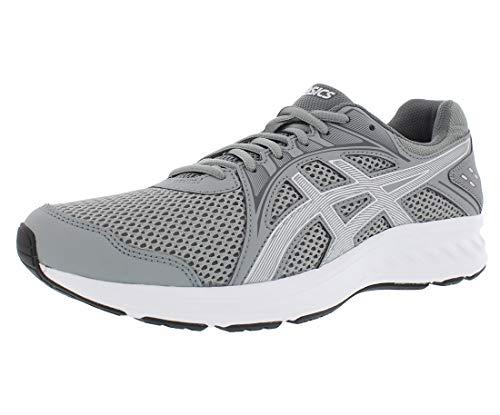 ASICS Men's Jolt 2 Running Shoes, 10.5, Stone Grey/Steel Grey
