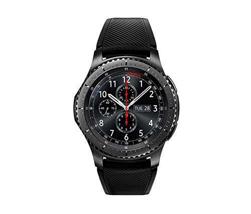 Samsung Gear S3 Frontier SM-R765 Smartwatch - Verizon - Black (Renewed)