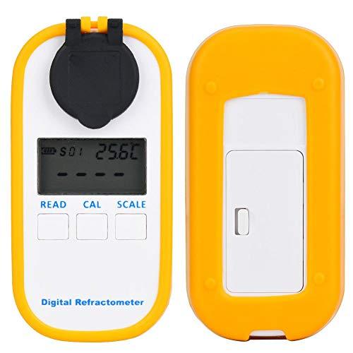 Digitale Brix Refractometer Vruchtensap Glucosemeter LCD Digitale Brix Tester Voedselsuiker voor boerderij voor kantoor voor thuis(DR102 high concentration BRIX0-94%)