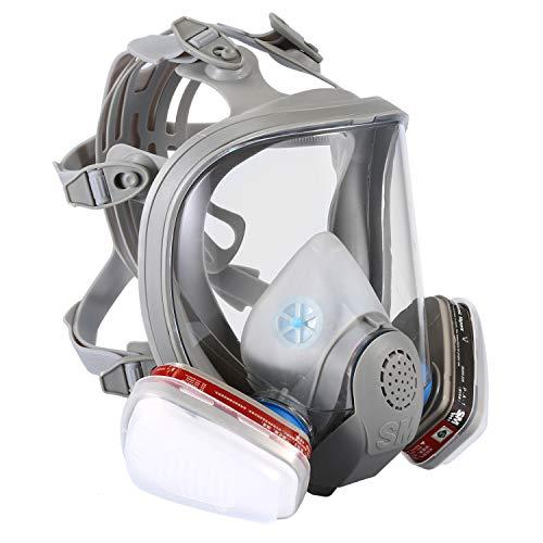 ENJOHOS Atemschutzmaske für das gesamte Gesicht, Anti-Staub-Maske