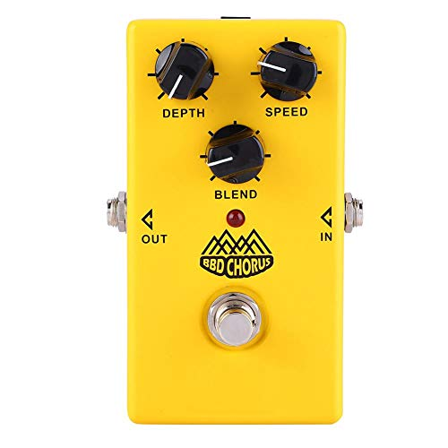 RiToEasysports Fafeicy Pedal Foot Pedal Guitar with Nux Twinote BBD Single Effect Effect Chorus for Electric Guitar