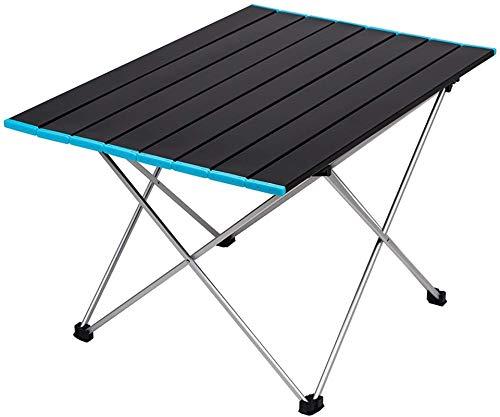 CASTOR Mesa de Picnic al Aire Libre Tabla de Camping Plegable Tabla portátil Ligera compacta de Aluminio al Aire Libre Mesa Plegable Mesa de Fiesta Barbacoa