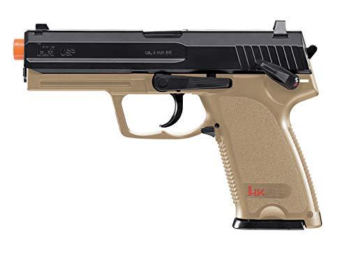Elite Force HK Heckler amp Koch USP 6mm BB Pistol Airsoft Gun Standard Action Dark Earth Brown