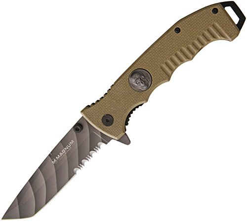 Boker 01SC648N Folding Knife with 440 Stainless Steel Blade, 3-3/4', Grey