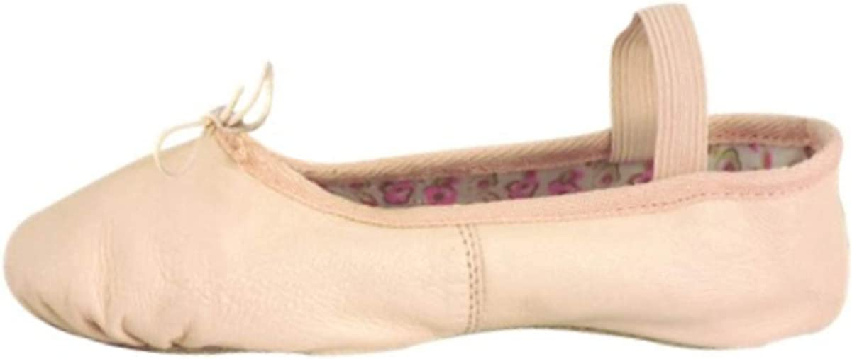 Danshuz Leather Full Sole Ballet