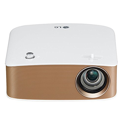LG PH150G 130lúmenes ANSI LCOS 720p (1280x720) Portable Projector Oro, Color Blanco - Proyector (16:9, 254 - 2540 mm (10 - 100