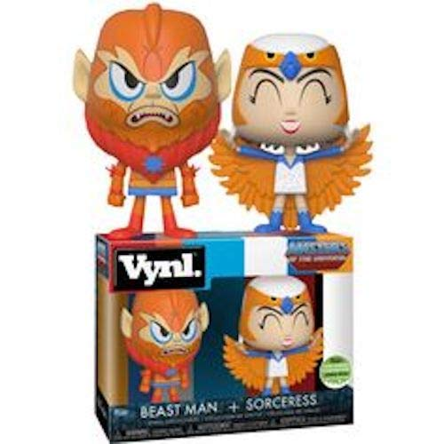 Funko Master of the Universe Sorceress and Beastman VYNL...
